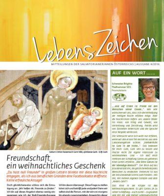 Image for LebensZeichen 4/2016