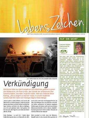 Image for LebensZeichen 1/2018