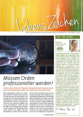 Image for LebensZeichen 1/2019