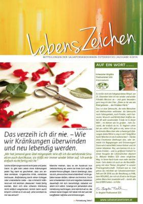Image for LebensZeichen 4/2014