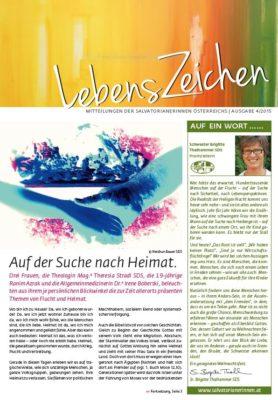 Image for LebensZeichen 4/2015