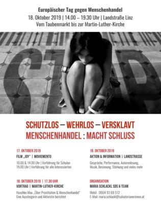 Image for 2019 – Schutzlos – Wehrlos – Versklavt  //  Menschenhandel : Macht Schluss