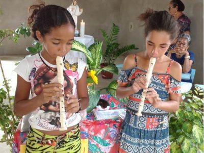 Die Straßenkinder im Haus Rebeca